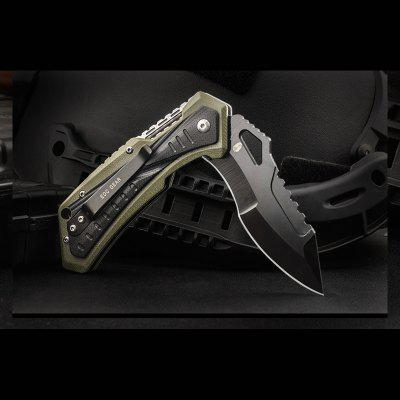 HX OUTDOORS ZD-19 AUS-8 Blade G10 Handle Folding Knife Outdoor Hunting Survival with EDC Knife