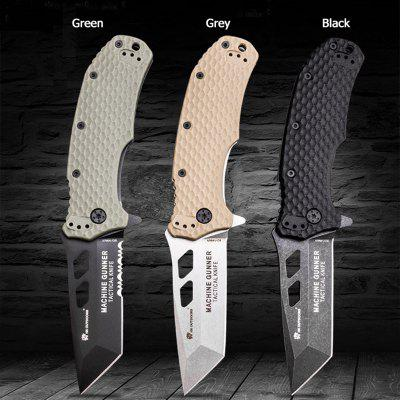 HX OUTDOORS ZD-029 Folding Knife 8cr14Mov Blade Outdoor Camping Travel with Tactical Utility EDC