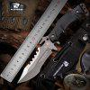 HX OUTDOORS D-123 440 Blade with Survival Tactical Fixed Knife Outdoor Camping Hunting Diving knives