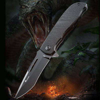 HX OUTDOORS DBS 440 stainless steel Folding Knife Outdoor Camping Travel with Tactical Utility