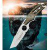 HX OUTDOORS D-203 3CR13 Blade Outdoor with Camping Hunting Survival Tactical Knife