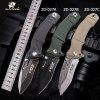 HX OUTDOORS ZD-027 Folding Knife Outdoor with Camping Survival Hunting Military Diving Knife