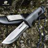 HX OUTDOORS TD-09-G HD2 Blade Tactical Fixed Knife Camping Hunting with Survival Gear Mercenaries