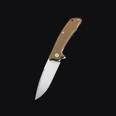440C Blade Folding Knife with G10 handle Liner Lock Camping Knives