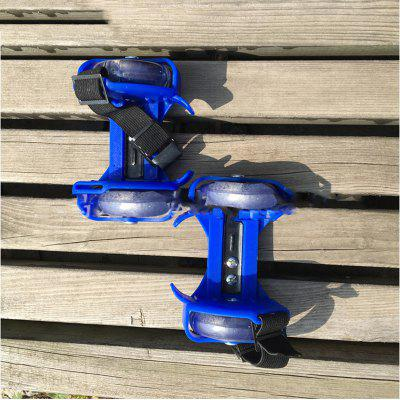 Small Whirlwind Pulley Flash Wheel heel Roller Skates Sports Rollerskate Shoes for Kids