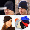 LED Light Knitted Hat Outdoor Fishing Warm Caps with 5 Lights