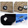 Bluetooth Music Knitted Hat with LED Light Wireless Headset Speaker Cap