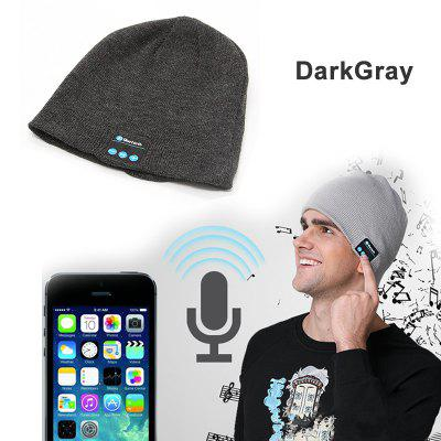 Mens Outdoor Bluetooth Hat Wireless Headset Speaker Knitted Cap Smart Multifunctional Hat