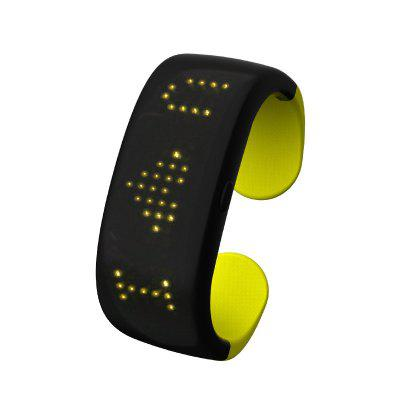 LED Display flashing pattern bracelet bracelet atmosphere cheer props night running LED bracelet