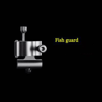 Fishing Chair Accessories Magnesium Aluminum Alloy Turret Fish Cage Fish Lure Rack Light Stand