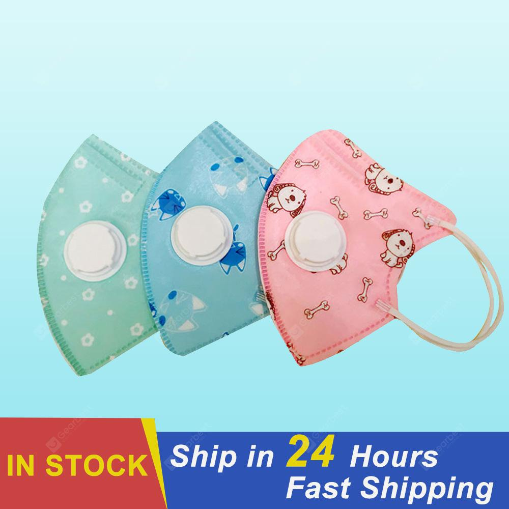 Disposable Non-medical 3PCS Activated Carbon Child Mask Cotton Reusable Washable Smoke And Dust Mask - China White