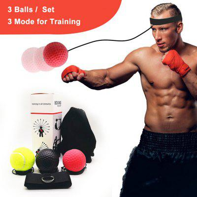 Boxing Reflex Ball Head Band Fighting Speed Training Punch Ball Exercise Equipment Tai MMA Ball