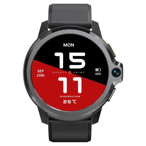 KOSPET Prime S Dual Chips Dual Modes Dual Cameras 4G Smartwatch Phone 1050mAh Battery 1.6 inch IPS Screen 1GB RAM 16GB ROM Healthcare Smart Watch