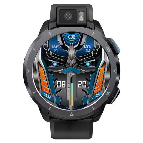 Kospet Optimus 2 Dual Chips Dual Modes 13M Rotatable Flashlight AF Cameras 4GB RAM 64GB ROM 1.6-inch 4G Smart Watch 2260mAh Android 10 Watch Phone