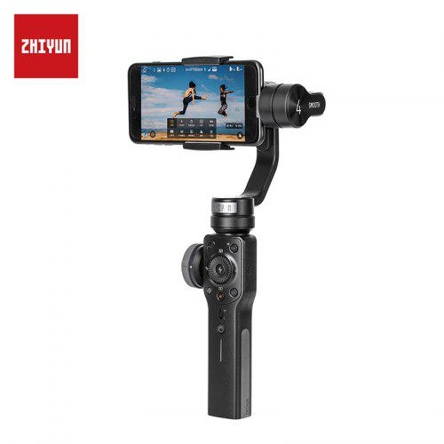 Zhiyun Official Smooth 4 Smartphone Gimbal Handheld Stabilizer for iPhone XS X Android Action Camera