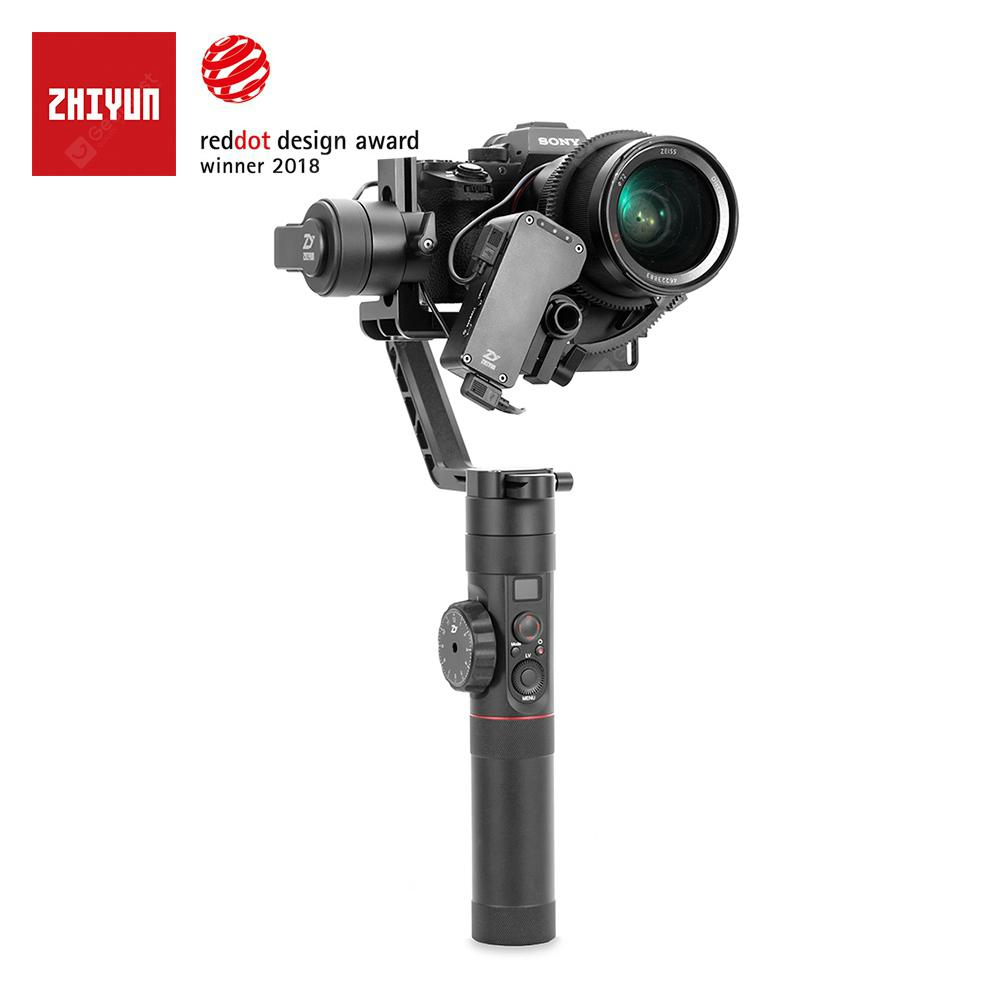 ZHIYUN Crane 2 3 Axis Gimbal Stabilizer for DSLR Mirrorless Camera Canon with Servo Follow Focus