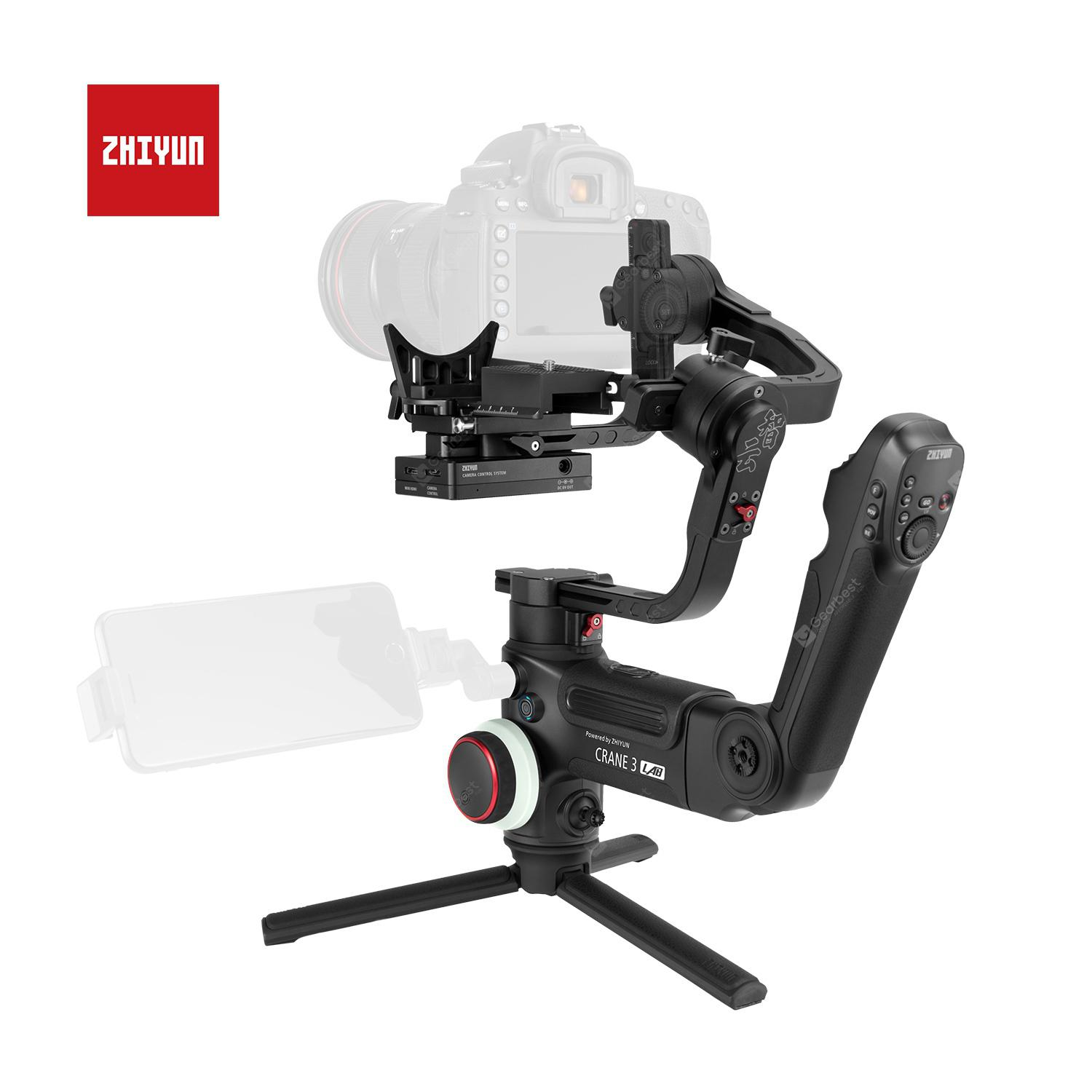 ZHIYUN Crane 3 LAB Handheld Gimbal Wireless Image Transmission Camera Stabilizer for DSLR VS DJI