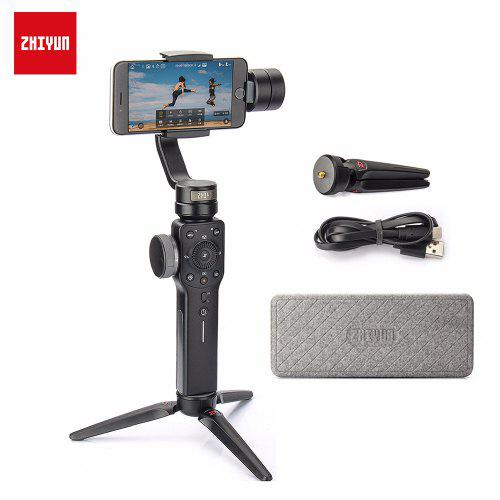Gearbest Zhiyun Official Smooth 4 Smartphone Gimbal Handheld Stabilizer for iPhone XS X Android Action Camera - United Kingdom