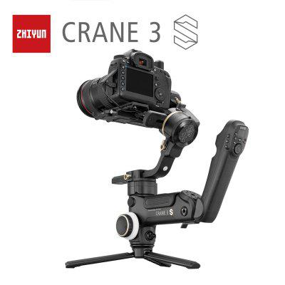 ZHIYUN Official Crane 3S Crane 3SE 3-Axis Handheld Stabilizer for 6.5KG DSLR Video Camera Gimbal zhiyun crane 2 dslr gimbal stabilizer 3 axis brushless handheld video camera stabilizer kit for mirrorless camera load 3200g