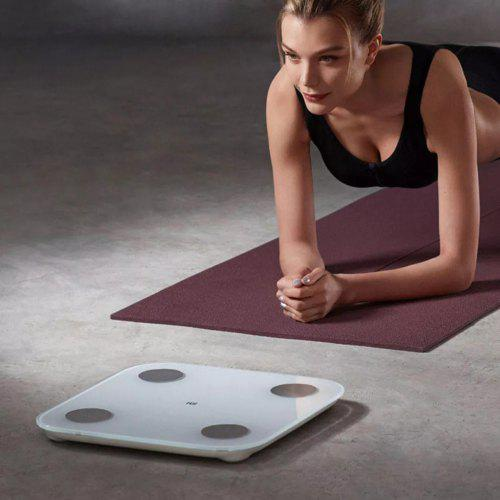 Original Xiaomi Smart Body Fat Composition Scale 2 Bluetooth 5.0 Health Weight Scale LED Display