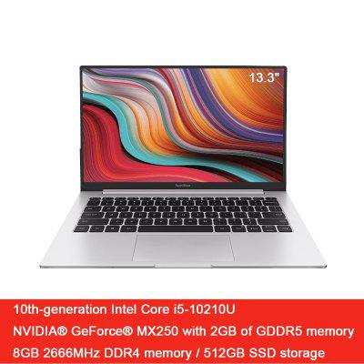 Ordinateur portable Xiaomi RedmiBook 13,3 pouces Intel Core i7-10510U NVIDIA GeForce MX250