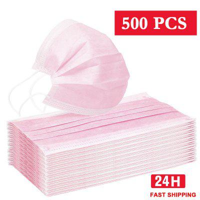 Face Mouth Anti Virus Mask Disposable Protect 3 Layer Filter Dustproof Earloop Non Woven Mouth Masks
