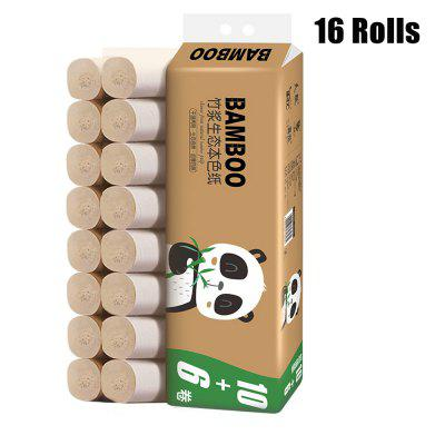 16 Rolls pack Toilet Roll Paper Home Bath Soft Toilet Roll Paper Primary Wood Pulp Toilet Paper