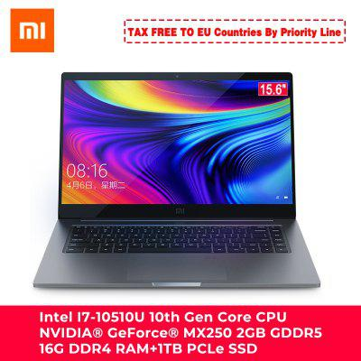 Xiaomi Ordinateur Portable Notebook 15.6 Pro Renforcé i7-10510U MX250