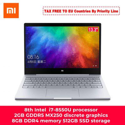 Original Xiaomi Laptop Air 13.3 Inch Intel i5/i7 Quad Core 8GB DDR4 512GB PCie SSD MX250 2GB Fingerprint Recognize Home PC Image