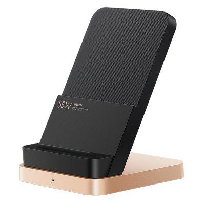 Orinigal Xiaomi 55W Wireless Charger Max Vertical air-cooled wireless charging Support Fast For 10 Pro Mobile Phones