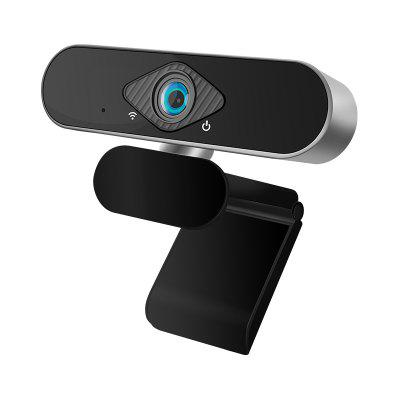 Xiaovv 1080P Webcam With Microphone 150 degree Wide Angle Widescreen USB HD Camera Plug and Play Laptop Computer Web Cam for Zoom Skype FaceTime