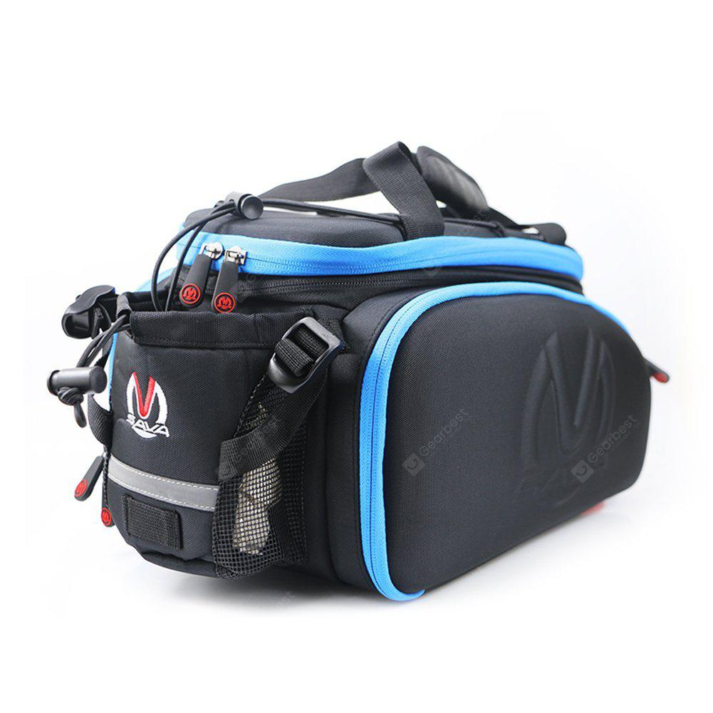SAVADECK Bicycle Bag 35L Bike Trip Traveling Trunk Bag Mountain Bike Rack Bag with Waterproof cover