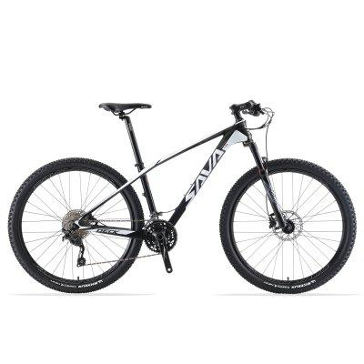 SAVADECK Mountain Bike Carbon Fiber Mountain Bike with SHIMANO DEORE M6000 30 Speeds Mountain Bike Image