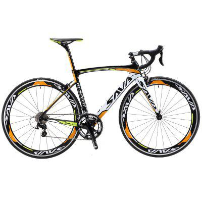 SAVA Windwar Road Bike Carbon Fiber Road bike with SHIMANO SORA 18 speeds Racing Road Biccycle