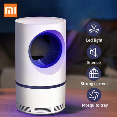 Xiaomi Purple Vortex Killer Mosquito USB LED Night Light Lamp Elétrico Mosquito Killer
