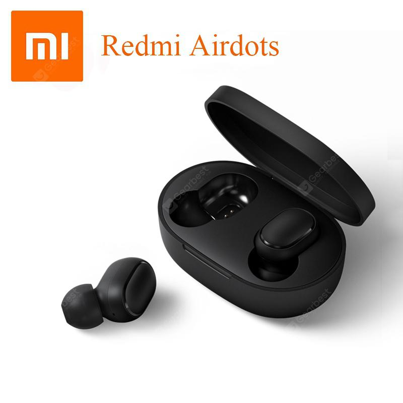 Original Xiaomi Redmi AirDots TWS Bluetooth Wireless Earphones Headset CN Or Global Version - CN Version China 3%commissions