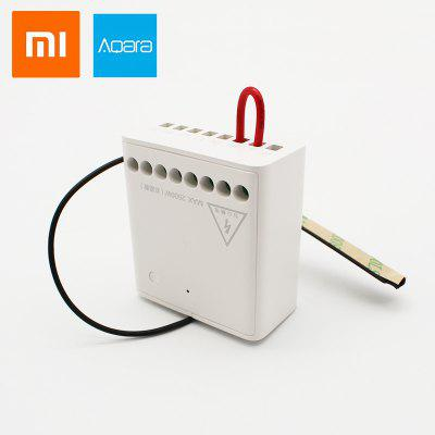 Xiaomi Aqara Relay Two-way Control Module 2 channels Wireless Relay Controller Support Mijia APP