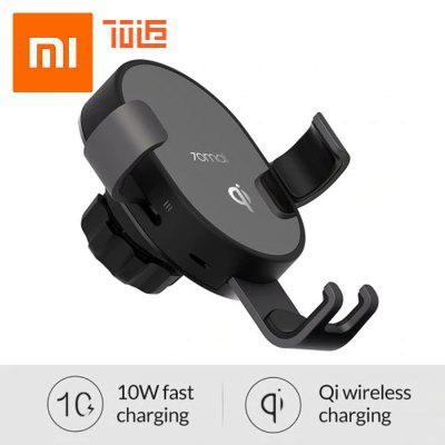 Xiaomi 70mai Qi Wireless Charger Holder 10w Fast Wirless Charging Car Charger Phone  Bracket