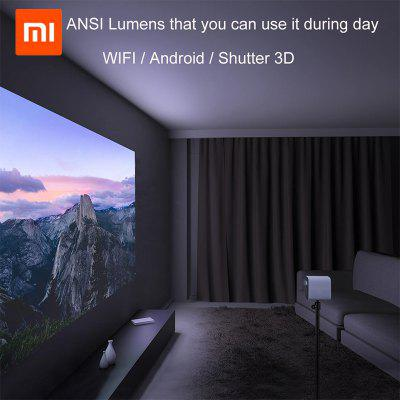Xiaomi Mijia DLP Projector 1080p Soporte 4K Video Proyector LED Beamer TV Full HD para cine en casa