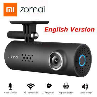 70mai 1S Car DVR Camera Wifi APP English Voice Control 1080P Night Vision from Xiaomi youpin