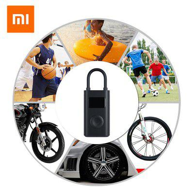 Xiaomi Mijia Electric Inflator Pump Smart Digital Tire Pressure Detection For Scooter Motorcycle