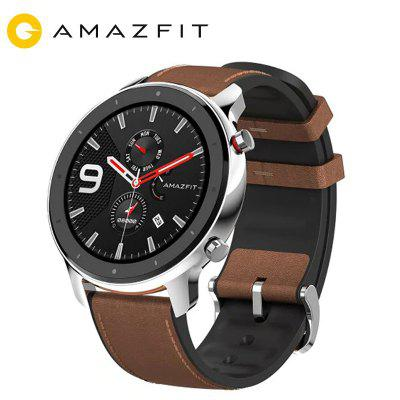 AMAZFIT GTR 47mm Smart Watch 24 Days Battery Life 5ATM Waterproof Global Version