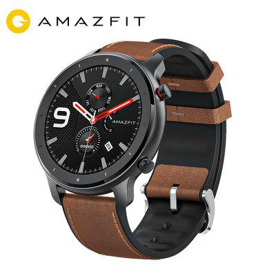 AMAZFIT GTR 47mm Smart Watch 24 Days Battery Life 5ATM Waterproof Global Version Image