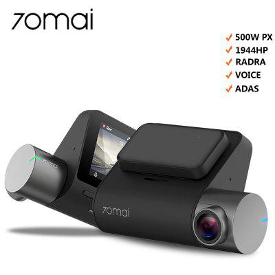 Xiaomi 70mai Dash Cam Pro 1944P HD Caméra DVR de voiture 140 degrés FOV International English Version