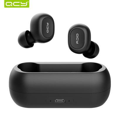 QCY qs1 T1C TWS 5.0 Bluetooth headphone 3D stereo wireless earphone with dual microphone