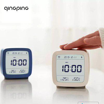 Qingping Bluetooth alarm clock  temperature and humidity monitoring night light From xiaomi youpin