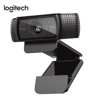 Logitech C920e hd Webcam Video Chat Recording Camera HD Smart 1080p Web Camera for Computer
