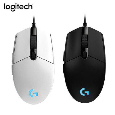 Logitech G102 Gaming Mouse RGB Programmable Mechanical Buttons Wired Mouse from xiaomi youpin