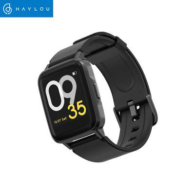 Haylou LS01 Smart Watch Global Version Fashion Comfortable Women Men Sleep Management Smartwatch