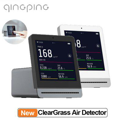 ClearGrass Air monitor Retina Touch IPS Screen Mobile Touch Operation  PM2.5 from Xiaomi Youpin